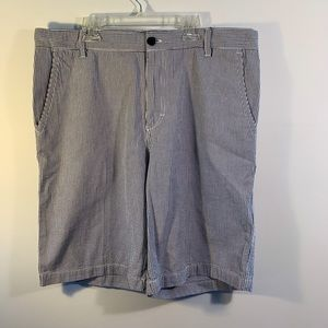 Izod men's ginghams Shorts